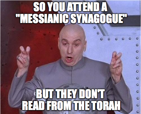 no torah at congregation