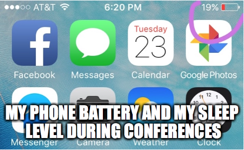 Sleep During Conferences